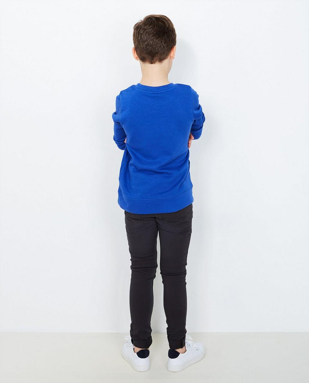 Sweater mit Sprechblase - in Knallblau - JBC